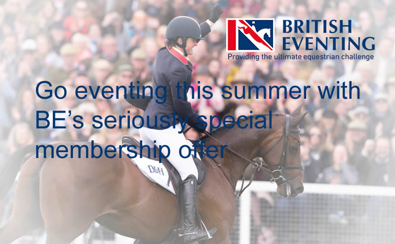British Eventing Special Summer Membership Offer