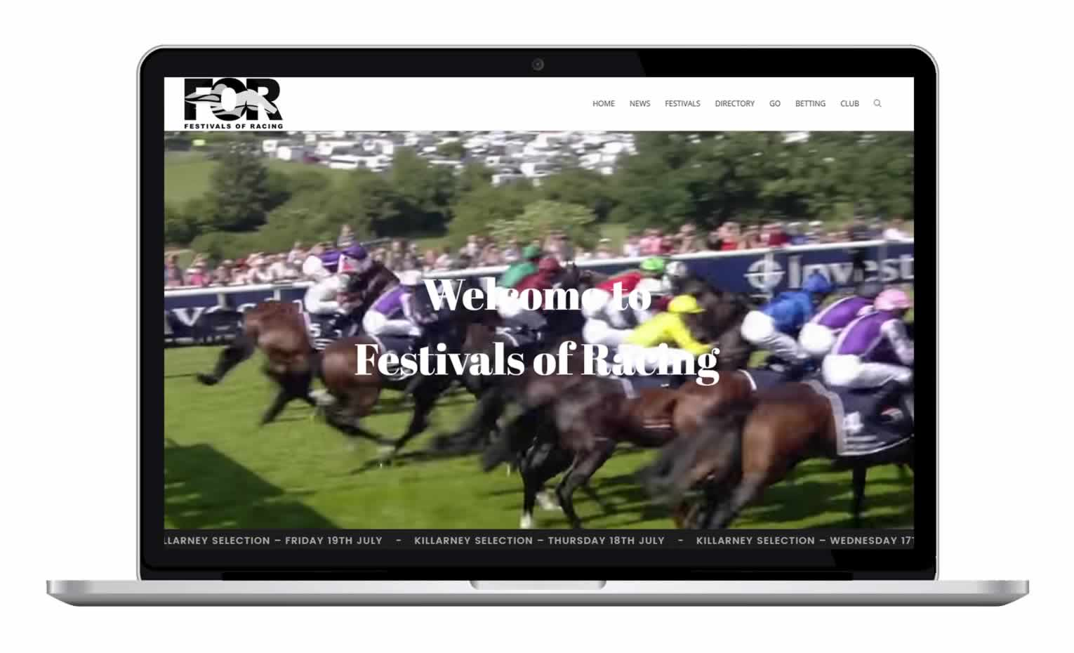 Festivals of Racing - Equestrian News Website focused on horse racing