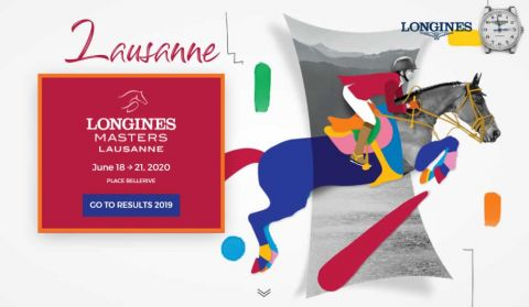 Longines Masters Showjumping Lausanne banner
