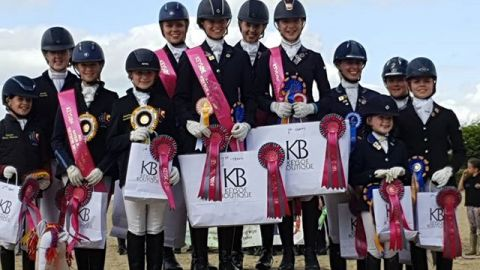 Southwest Interregionals Dressage winners