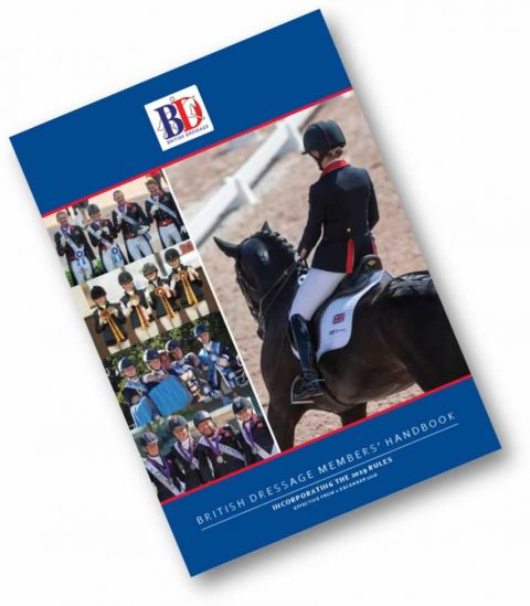 British Dressage Rulebook