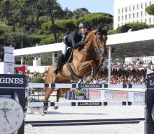 Ben Maher and Explosion W at LGCT Rome