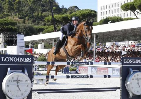 Ben Maher riding Explosion W