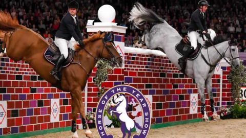 Horse of the Year Show Puissance 2019